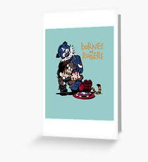 calvin and hobbes greeting cards redbubble