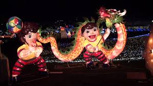 chineses lantern taipei taiwan 24 february 2013 light up celebrating lantern