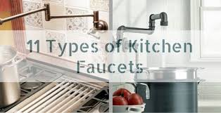types of faucets kitchen types of kitchen faucets new faucet design within 14