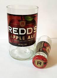 redd u0027s apple ale beer bottle shot glass u0026 chaser set