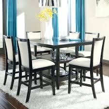 dining room sets counter height fashionable high dining room tables coaster 7 piece counter height