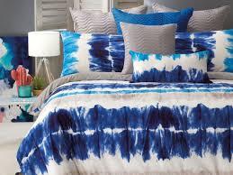 bianca zaden tie dye single size quilt cover set the linen gallery