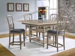 riverside corinne sun drenched acacia dining room set