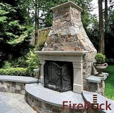 Firerock Masonry Fireplace Kits by Fireplaces