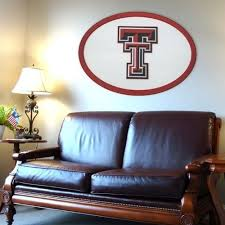 texas tech red raiders 46 inch carved wall art multicolor texas