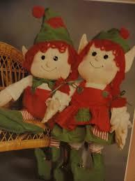 sewing patterns christmas elf sewing pattern elves doll pattern elfbert and elfberta rag dolls