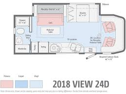 new 2018 winnebago view 24d motor home class c diesel at