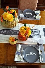 ideas para decorar la mesa día de acción de gracias danielly
