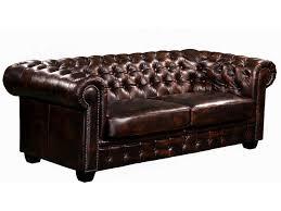 canape cuir pleine fleur 3 places canapé et fauteuil chesterfield 100 cuir de buffle brenton