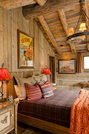 paint colors and more for cozy western southwestern master bedroom