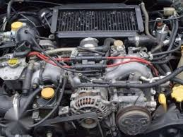 subaru impreza turbo engine turbo engine from gc8 subaru impreza half cut