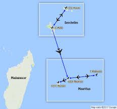 Seychelles Map Indian Ocean Islands U2013 Mauritius Rodrigues Reunion U0026 Seychelles 2018