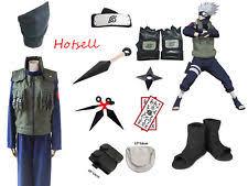 Naruto Halloween Costume Naruto Hatake Kakashi Deluxe Cosplay Costume Halloween Clothing Ebay