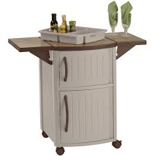 Patio Serving Table Patio Side Tables And End Tables Organize It