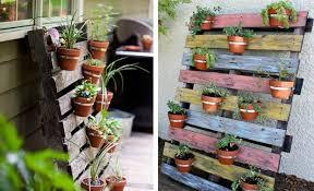 Painting Garden Pots Ideas 21 Vertical Pallet Garden Ideas For Your Backyard Or Balcony