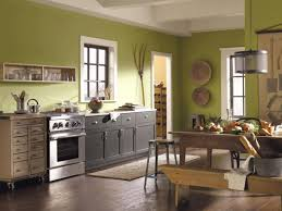 kitchen design get contrast and produce great look with paint
