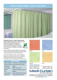 Anti Ligature Shower Curtain Brochures