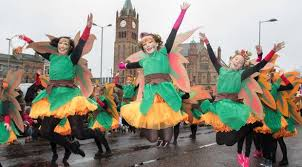 st s day 2017 photos from parades in belfast downpatrick