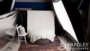 Newborn Photography Studio Lighting Setup With Softbox And - Bedroom photography studio