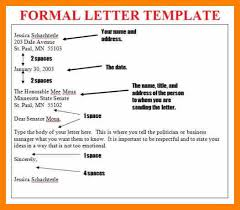 name letter pattern formal letter pattern format exle template expert besides 8