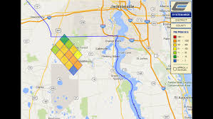 Power Outage Map Florida by More Than 4 000 Without Power Early Tuesday Morning Wjax Tv