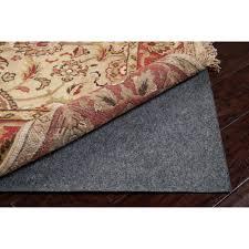 Non Slip Rug Pads For Laminate Floors Prime Dual Felt Rug Pad 7 U002710 X 10 U002710 Free Shipping Today