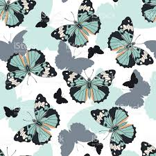 abstract pattern butterfly butterflies seamless pattern stock vector art more images of