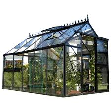 Hobby Greenhouses Exaco Junior Victorian 8 Ft X 12 5 Ft Greenhouse J Vic24 S The