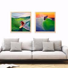 Surf Home Decor by Online Get Cheap Abstract Surf Art Aliexpress Com Alibaba Group
