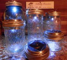 mason jar outdoor lights lighting 3pcslot solar mason jar lid insert led fairy light lids