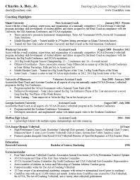 resume template sle 2017 ncaa skill resume professional coach resume sle health coach resume