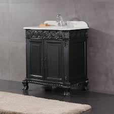 bathroom ideas antique black solid wood 30 inch bathroom vanity