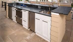 outdoor kitchen cabinet door hinges outdoor sink cabinet l trex outdoor kitchens