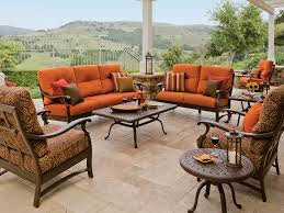 Tropitone Fire Pit by Tropitone Ravello Deep Seating Lounge Set Rvcls1 Outdoor
