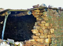 wall pretoria free images rock roof building wall material falling