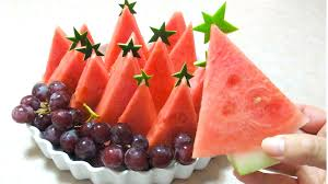 how to make watermelon fruit platter watermelon christmas tree