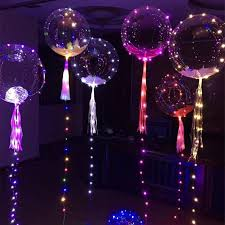 2017 light up toys led string lights flasher lighting balloon bobo