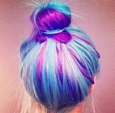 rainbow color hair ideas rainbow hair button hair pink hair updo blue hair bun hairstyles