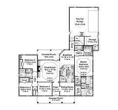 Ten Bedroom House Plans Wellshire One Level Home Plan 077d 0156 House Plans And More