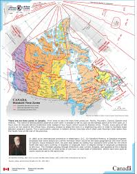 Map Of World Time Zones Time Zone Map Of Canada You Can See A Map Of Many Places On The