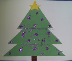paper christmas tree craft laura williams