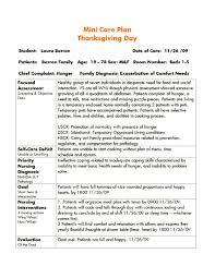 thanksgiving meal plans thanksgiving mini care plan student nurse laura