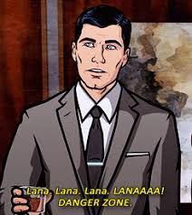 Archer Danger Zone Meme - danger zone archer gif find share on giphy