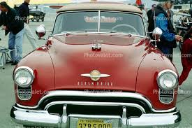 oldsmobile 1949 ornament convertible windshield on