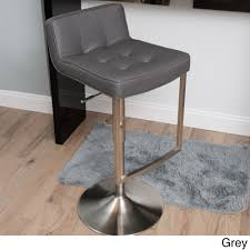 gray bar stool this slick stylish barstool features a modern