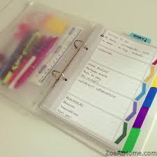 easy peasy home management binder or diy planner zoeathome com