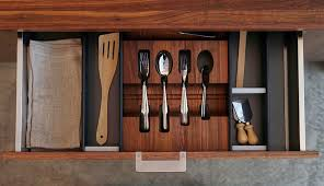Accessories For Kitchens - elegant and highly functional drawer accessories for modern