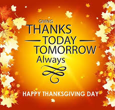 giving thanks today tomorrow always happy thanksgiving day