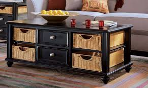 coffee table painted coffee tables with drawers designs black