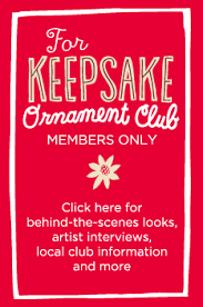 keepsake ornament club member information keepsakes and ornament